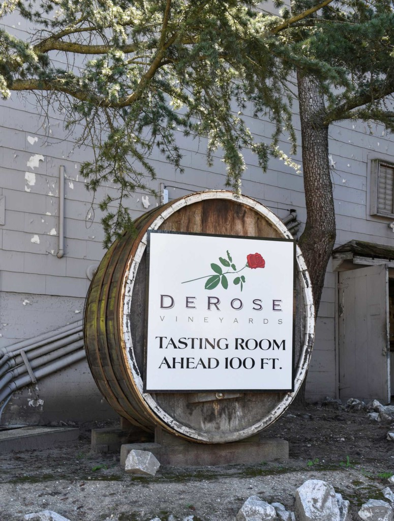 San Benito County Wineries Derose