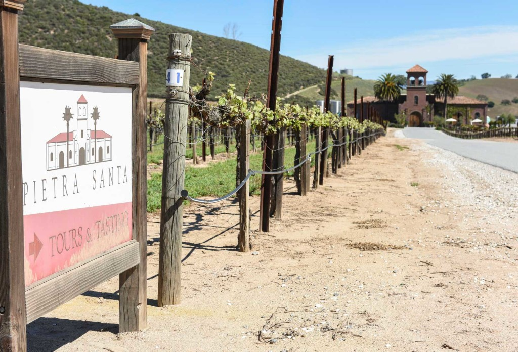 San Benito County Wineries Pietra Santa