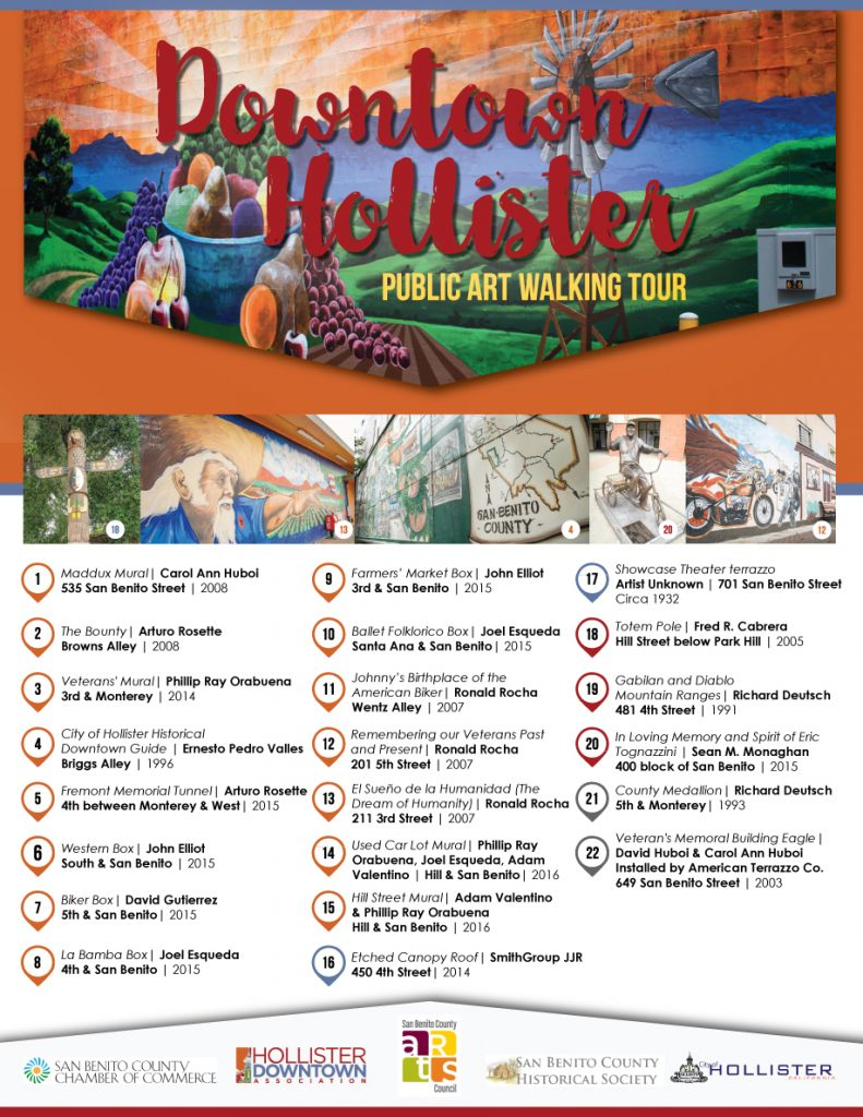 San Benito County Public Art Walking Tour_Brochure
